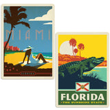 ADG 2 Decal Set Wholesale - US Cities Florida 5
