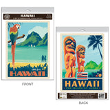 Hawaii Aloha Decal Set of 2