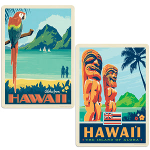 ADG 2 Decal Set Wholesale - US Cities Hawaii