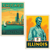 ADG 2 Decal Set Wholesale - US Cities Illinois 2