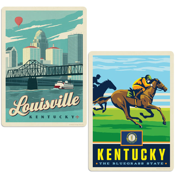 ADG 2 Decal Set Wholesale - US Cities Kentucky
