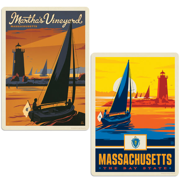 ADG 2 Decal Set Wholesale - US Cities Massachusetts 4