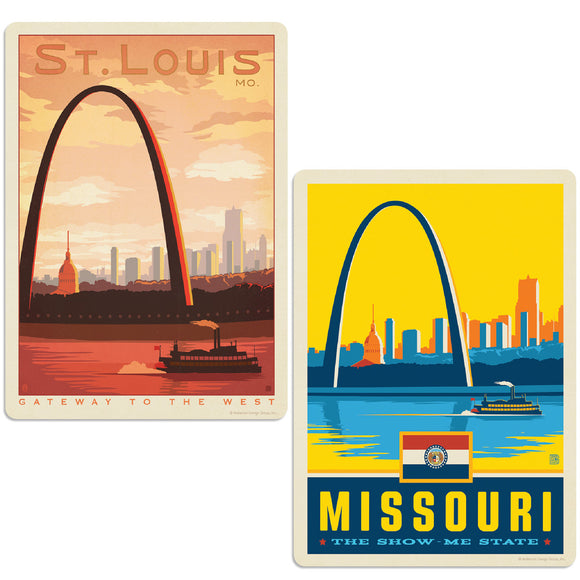 ADG 2 Decal Set Wholesale - US Cities Missouri 2