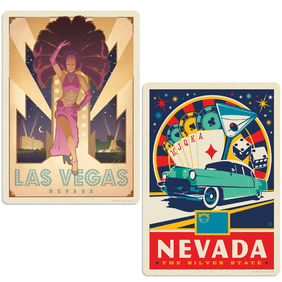 ADG 2 Decal Set Wholesale - US Cities Nevada 1