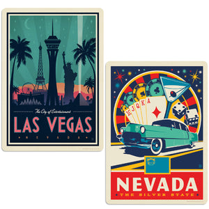 ADG 2 Decal Set Wholesale - US Cities Nevada 2