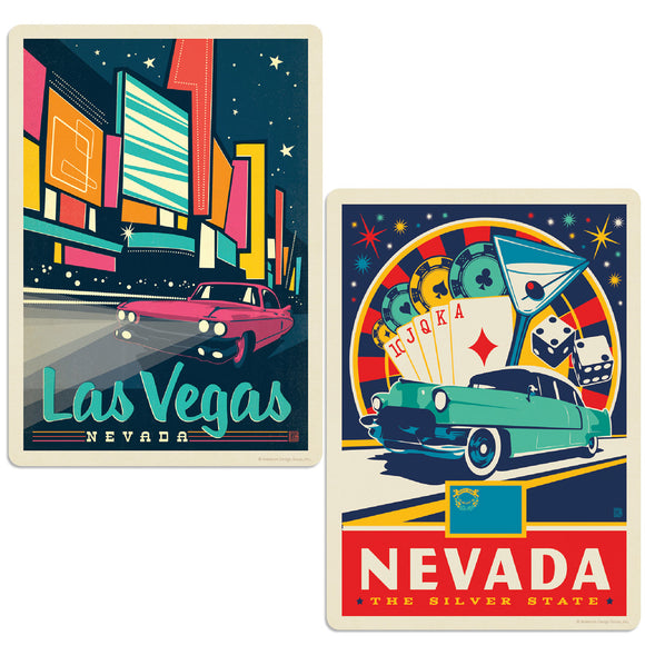 ADG 2 Decal Set Wholesale - US Cities Nevada 3