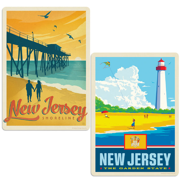 ADG 2 Decal Set Wholesale - US Cities New Jersey