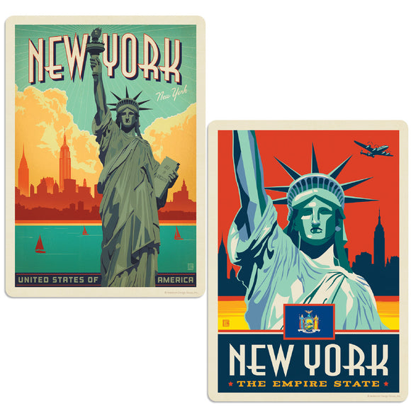 ADG 2 Decal Set Wholesale - US Cities New York 2
