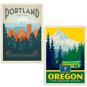 ADG 2 Decal Set Wholesale - US Cities Oregon 1