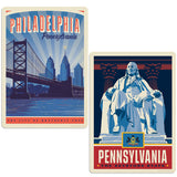 ADG 2 Decal Set Wholesale - US Cities Pennsylvania 1