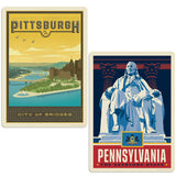ADG 2 Decal Set Wholesale - US Cities Pennsylvania 2