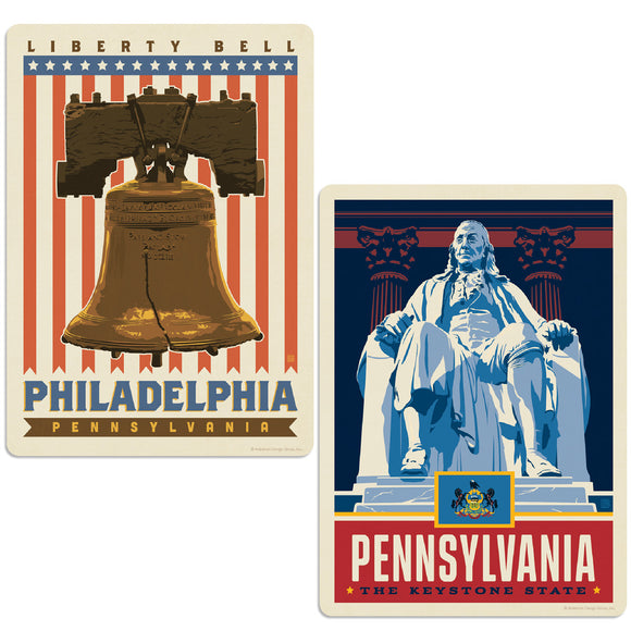 ADG 2 Decal Set Wholesale - US Cities Pennsylvania 3