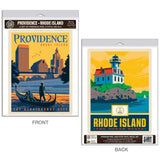 Providence Rhode Island Renaissance City Decal Set of 2
