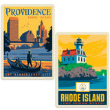 ADG 2 Decal Set Wholesale - US Cities Rhode Island