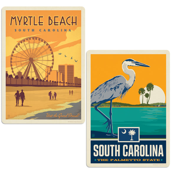ADG 2 Decal Set Wholesale - US Cities South Carolina 2