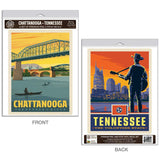 Chattanooga Tennessee River Decal Set of 2