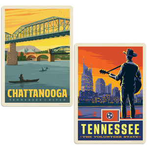 ADG 2 Decal Set Wholesale - US Cities Tennessee 4