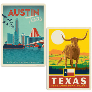 ADG 2 Decal Set Wholesale - US Cities Texas 1
