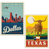 ADG 2 Decal Set Wholesale - US Cities Texas 2