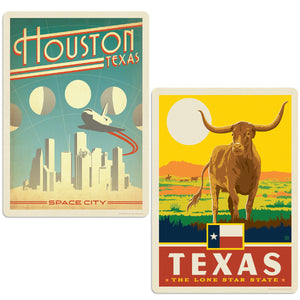 ADG 2 Decal Set Wholesale - US Cities Texas 3