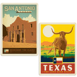 ADG 2 Decal Set Wholesale - US Cities Texas 4