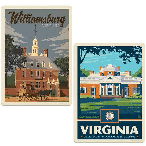 ADG 2 Decal Set Wholesale - US Cities Virginia 1
