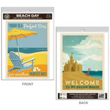 Beach Day Decal Set of 2
