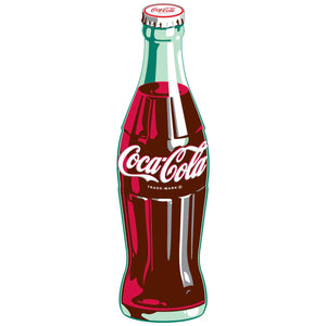 Coca-Cola Bottle 1930s Style Sticker
