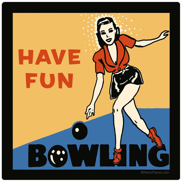 Have Fun Bowling Decal