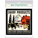 Dairy Products Butter Eggs Cheese Decal