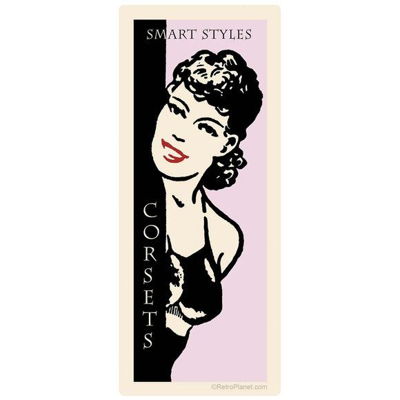 Smart Styles Corsets Ladies Fashion Sticker