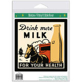 Drink More Milk For Your Health Sticker