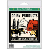 Dairy Products Butter Eggs Cheese Sticker
