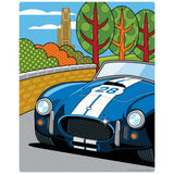 Pittsburgh Grand Prix Race Car Decal