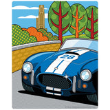 Pittsburgh Grand Prix Race Car Sticker