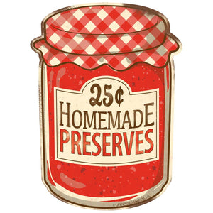 Homemade Preserves 25 Cents Wholesale Decal