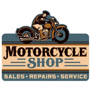 Motorcycle Shop Wholesale Decal