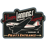 Happy Landings Lounge Wholesale Decal