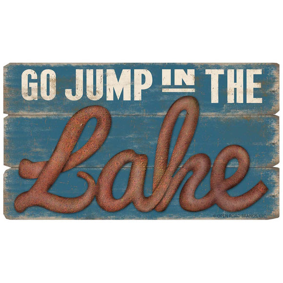 Go Jump in the Lake Wholesale Decal