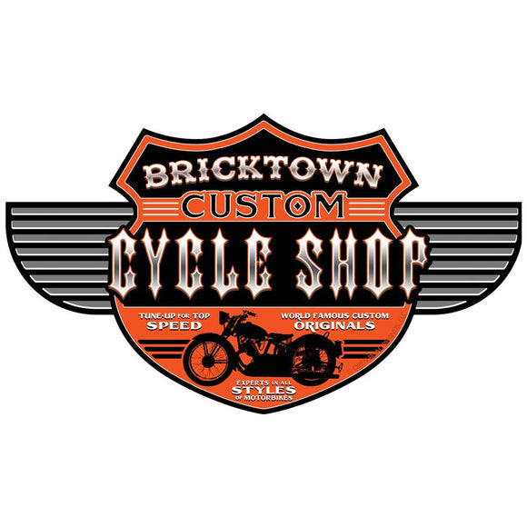 Bricktown Motorcycle Shop Wholesale Decal