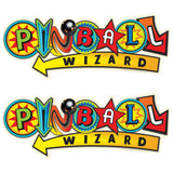 Pinball Wizard Arcade Style Wholesale Decal Set of 2