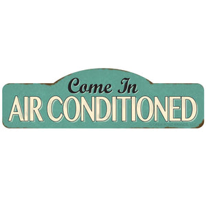 Come In Air Conditioned Wholesale Sticker
