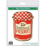 Homemade Preserves 25 Cents Wholesale Sticker