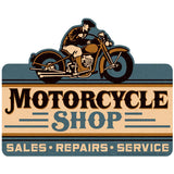 Motorcycle Shop Wholesale Sticker