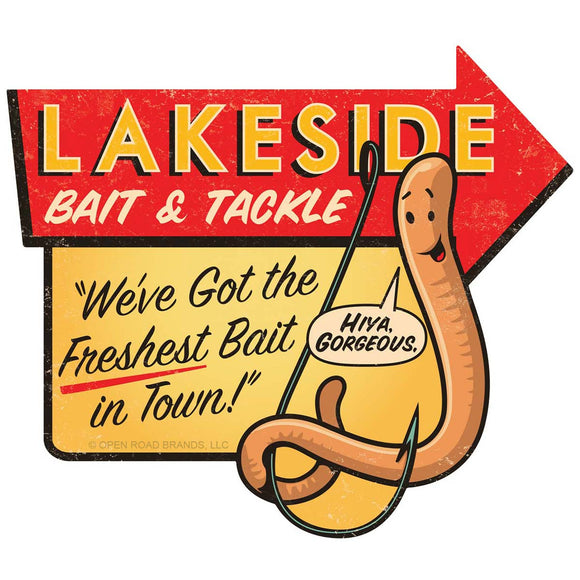 Lakeside Bait and Tackle Wholesale Sticker