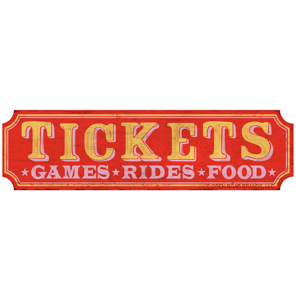 Ticket Booth Games Rides Food Wholesale Sticker
