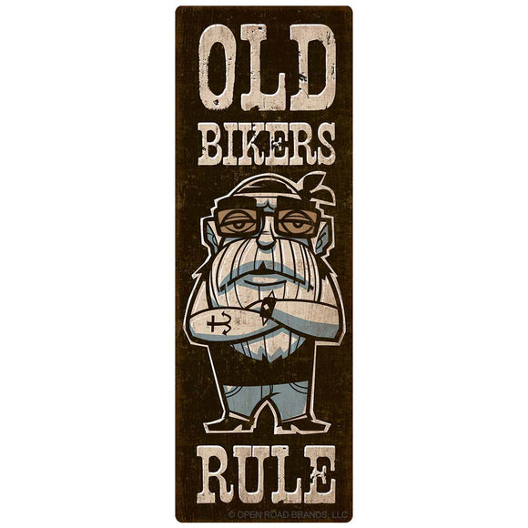 Old Bikers Rule Decal Wholesale Sticker