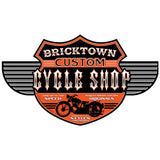 Bricktown Motorcycle Shop Wholesale Sticker