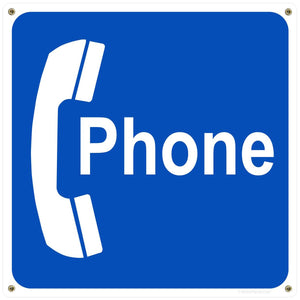Public Phone Booth Decal