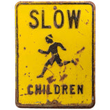 Slow Children Distressed Decal